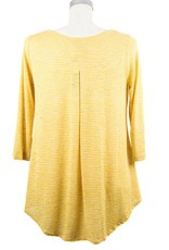 Nally and Millie Pleated Back Tunic in Sunflower
