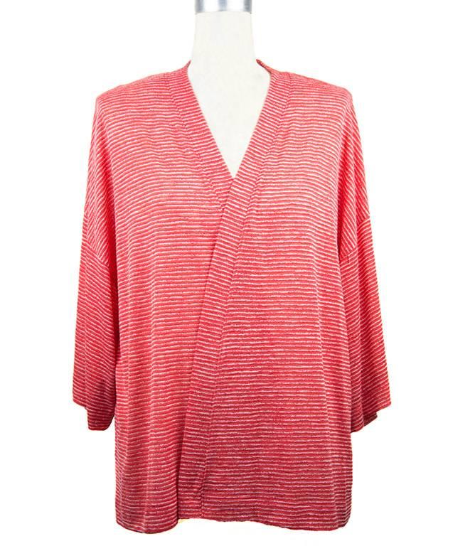 Nally and Millie Kimono Tunic in Poppy Red