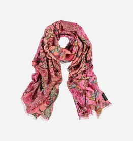 Fraas Bazaar Scarf  in Tourmaline
