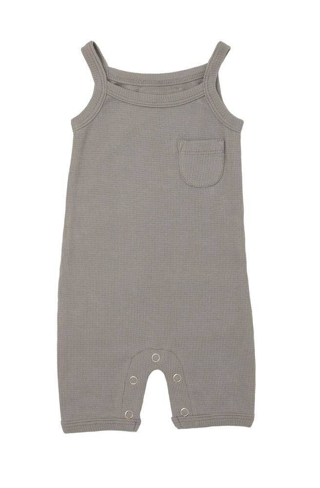 L'ovedbaby Summer Romper Light Grey