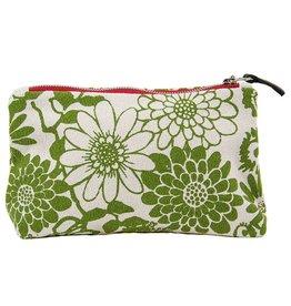 Erin Flett Zip Makeup Bag Green