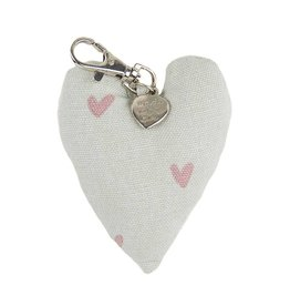 Sophie Allport Key Ring in Hearts