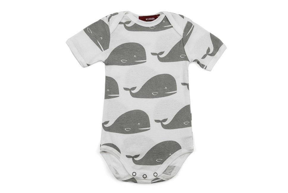 Milkbarn One Piece in Grey Whale