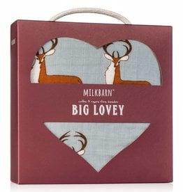 Milkbarn Big Lovey in Blue Buck