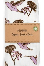 Milkbarn Bath Cloth Set in Hummingbird