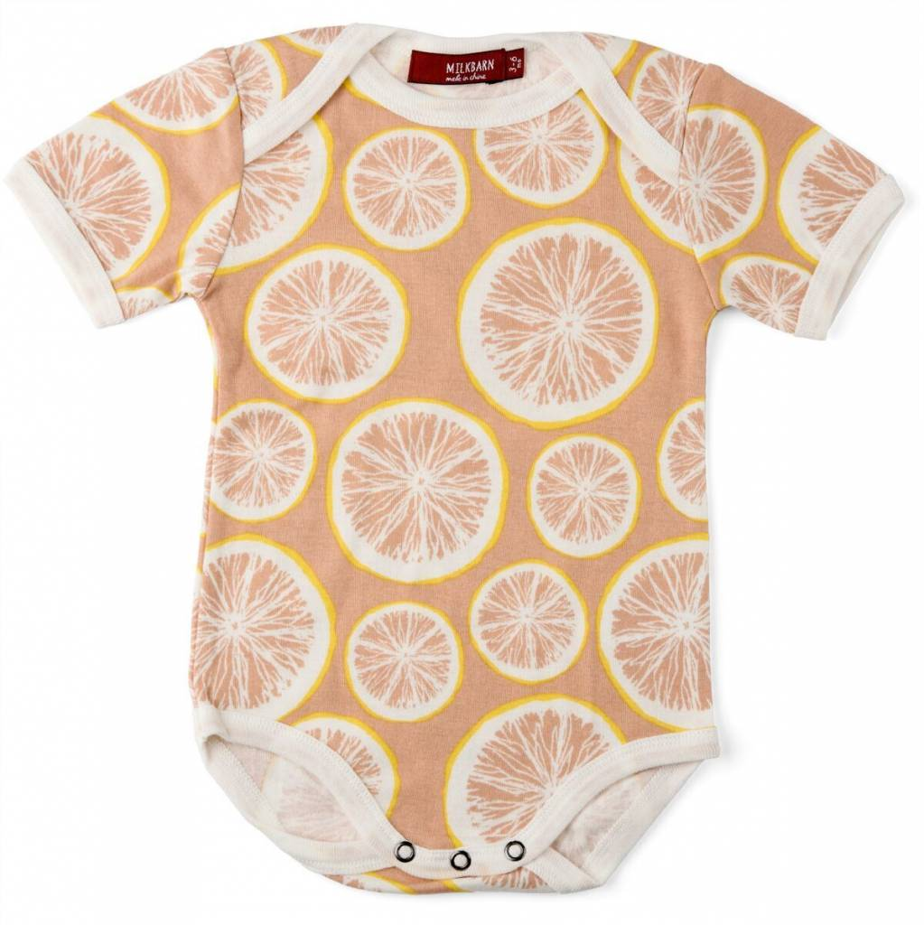 Milkbarn One Piece in Grapefruit