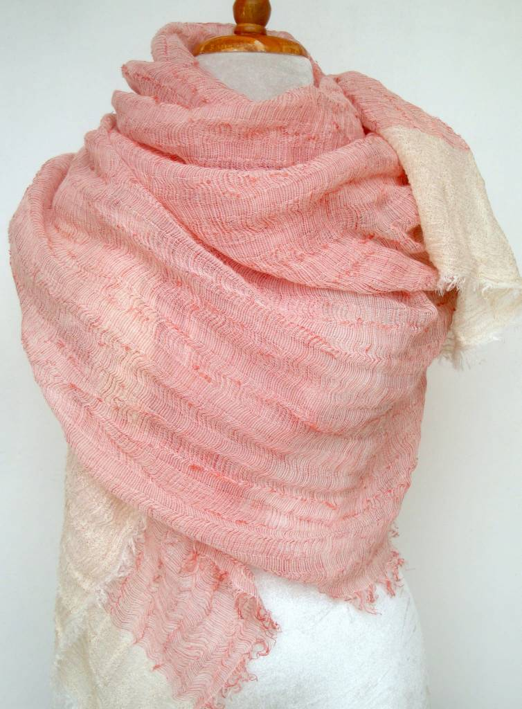 Paisley Road Sea Cliff Scarf Pink