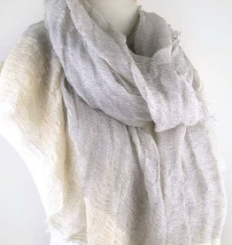 Paisley Road Sea Cliff Scarf Taupe