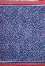 Rockflowerpaper Sardines Navy Cotton Kerchief Scarf