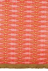 Rockflowerpaper Zarah Pink Fringe Scarf