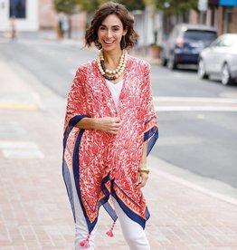 Rockflowerpaper Kimono Scarf Kasbah Coral