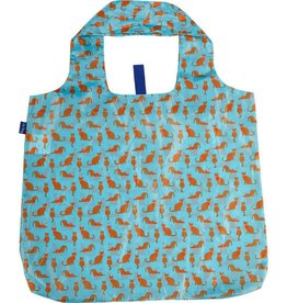 Rockflowerpaper Blu Bag Cats Blue