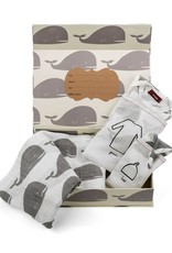 Milkbarn Keepsake Set Grey Whale