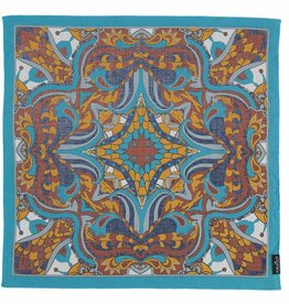 Fraas Spice Market Scarf Turquoise