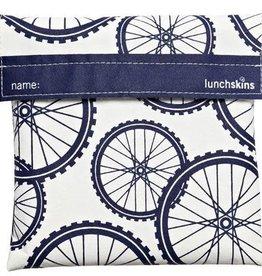 3greenmoms Reusable Quart Bag Blue Bike (Velcro)