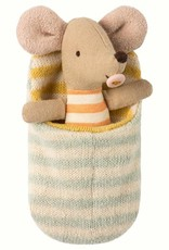 Maileg Mouse Baby in Sleeping Bag
