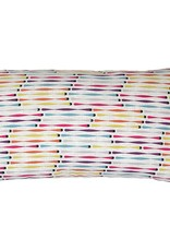 Kreatelier Cotton Pillow Multicolor - 11 x 21in