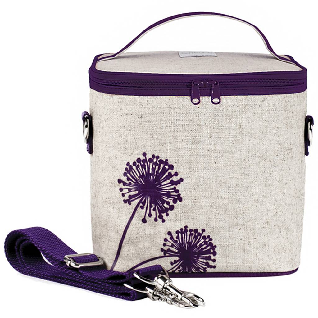 So Young Large Cooler Bag Purple Dandelion