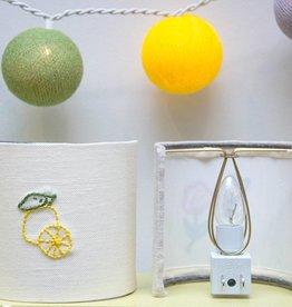 Kreatelier Night Light Embroidered Lemon