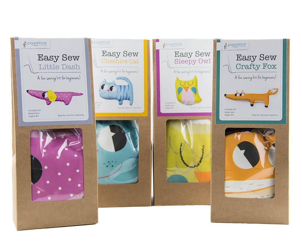 Pippablue Easy Sew Crafty Fox Kit