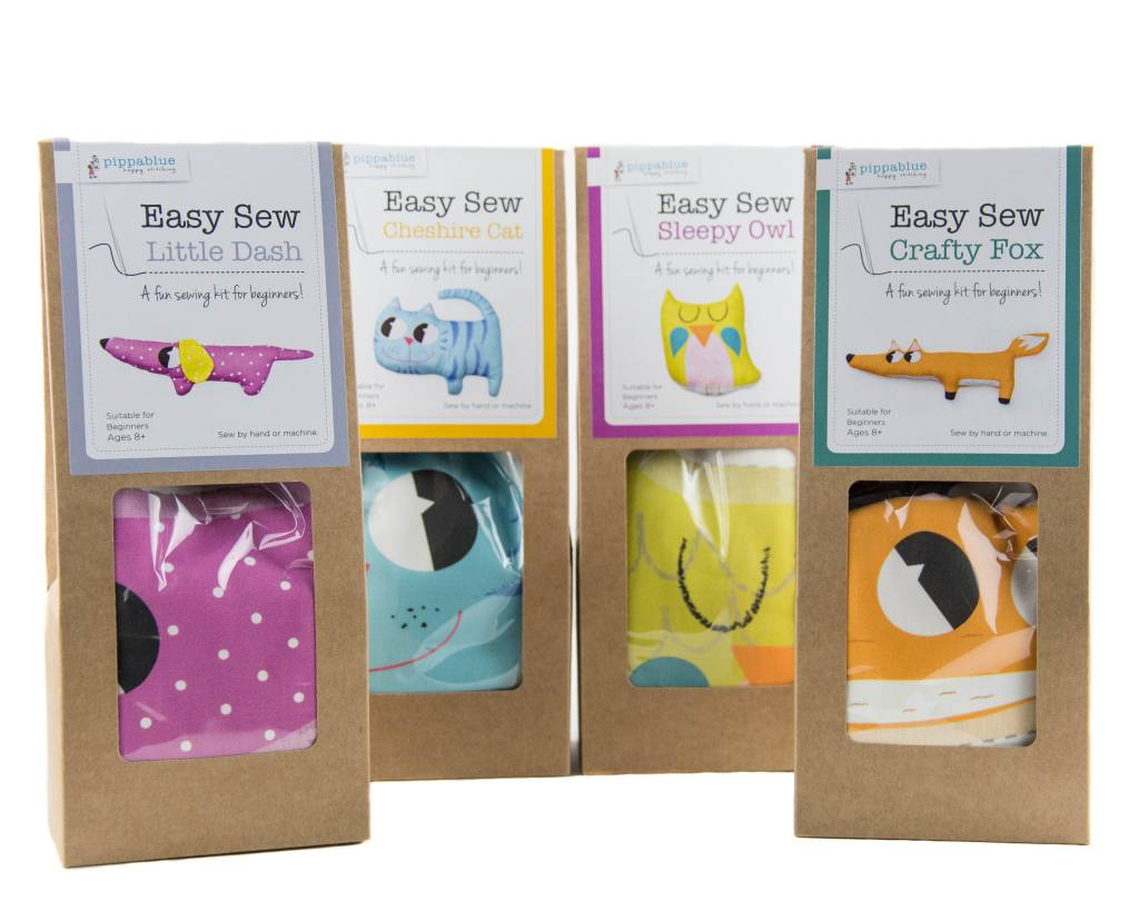 Pippablue Easy Sew Sleepy Owl Kit
