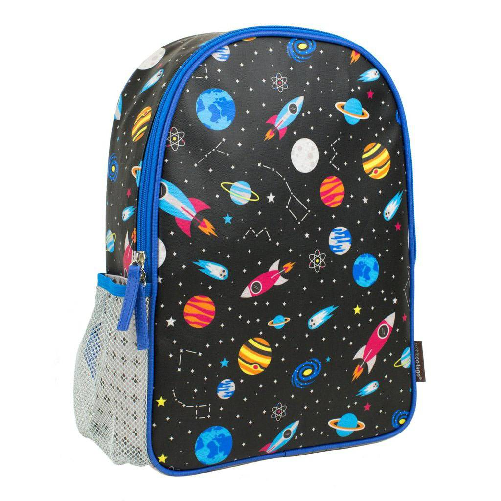 Petit Collage Backpack Outer Space