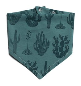 Winter Water Factory Kerchief Bib Cactus Teal