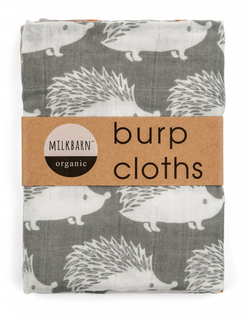 Milkbarn Bundle of Burpies Grey Hedgehog