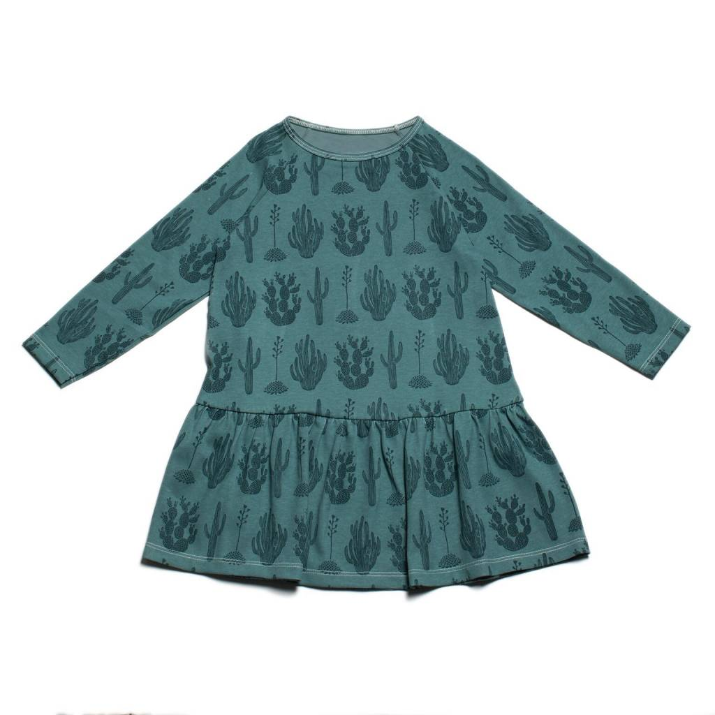 Winter Water Factory Chicago Dress Cactus Teal