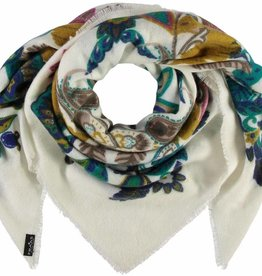 Fraas Opulence Scarf White