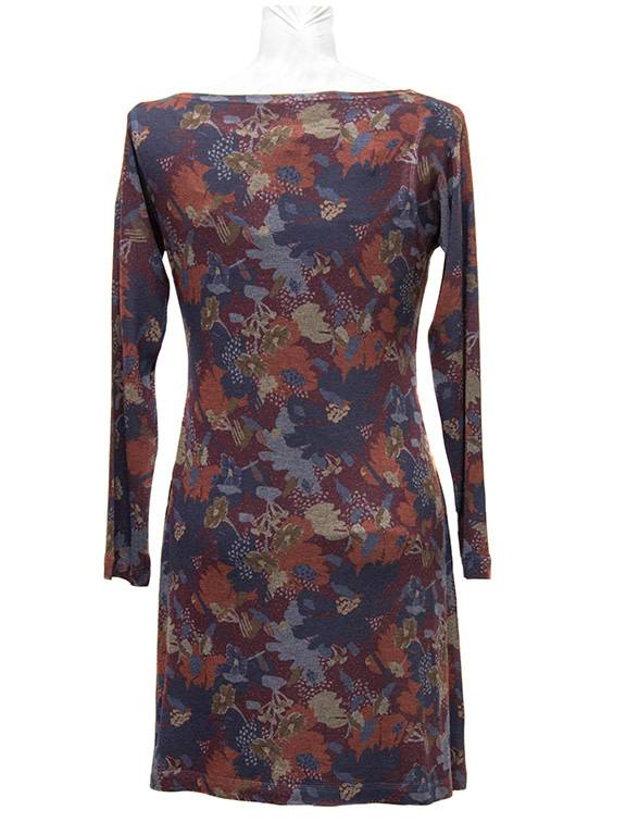 Nally and Millie Burg Floral Dress