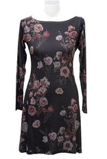 Nally and Millie Black Floral Dress