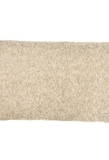 Kreatelier Boucle Pillow in Cream - 11 x 21in