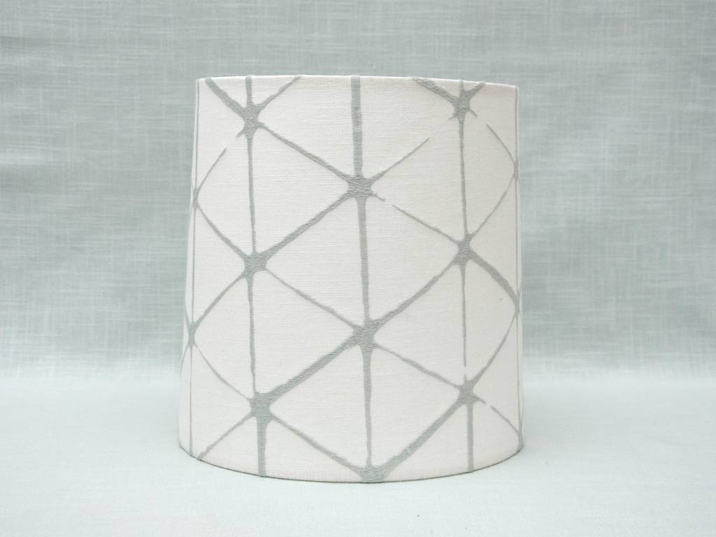 Kreatelier Lamp shade Tapered Geometric in Light Blue