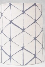 Kreatelier Lamp shade Tapered Geometric in Grey