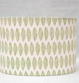 Kreatelier Lamp shade Oval Leaves in Green
