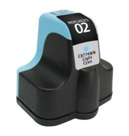 For HP 02 Light Cyan