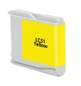 For Brother LC-51 Yellow