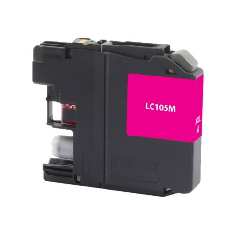 For Brother LC-105 Magenta High Yield