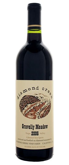 DIAMOND CREEK GRAVELLY MEADOW CABERNET SAUVIGNON 2000 750ML