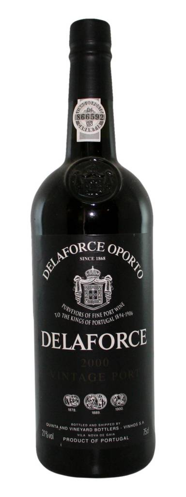 DELAFORCE VINTAGE PORT 2000 750ML