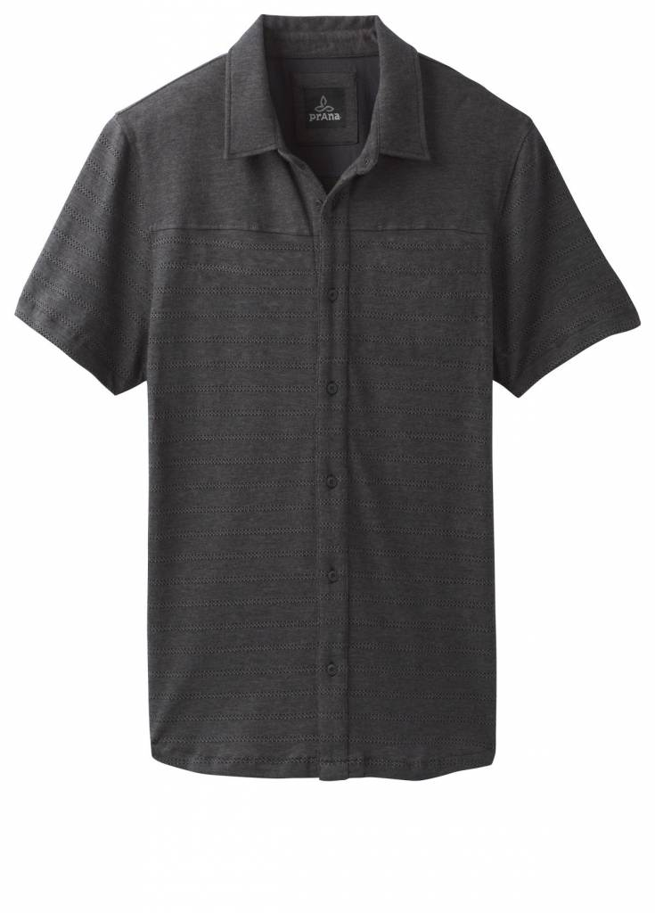 prAna GAINES SS BUTTON FRONT