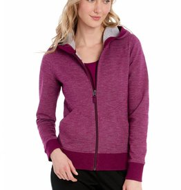 LOLE INDIA HOODED CARDIGAN
