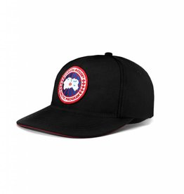 CANADA GOOSE COTTON ADJUSTABLE CG BALL CAP