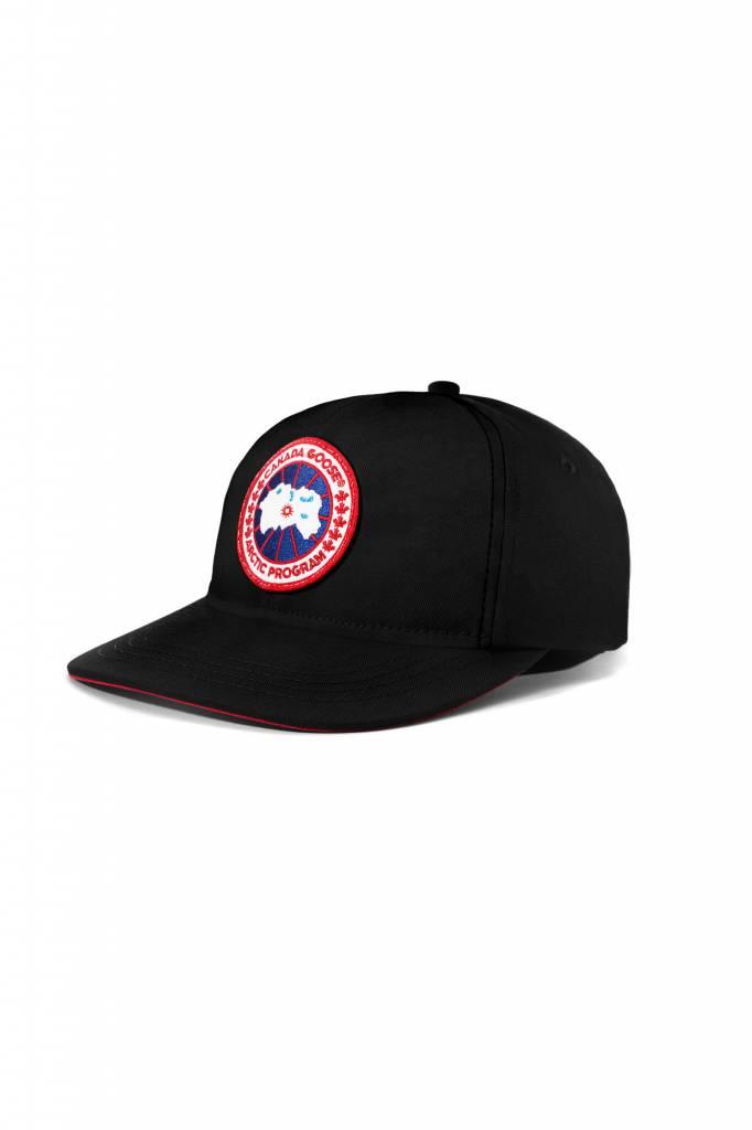 CANADA GOOSE COTTON ADJUSTABLE CG BALL CAP