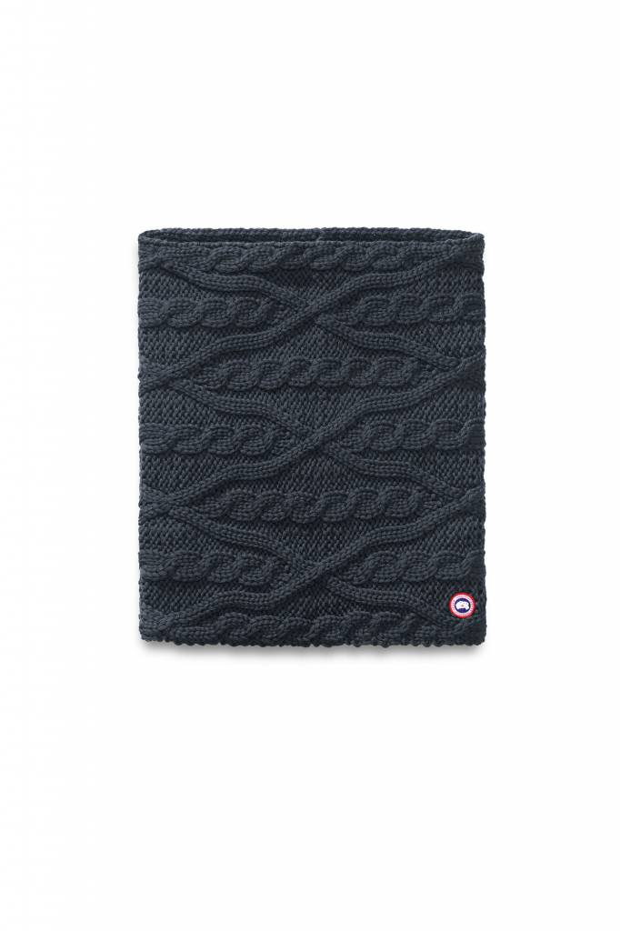 CANADA GOOSE MERINO CHUNKY CABLE SNOOD