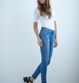YOGA JEANS HIGH RISE ANKLE FUJI