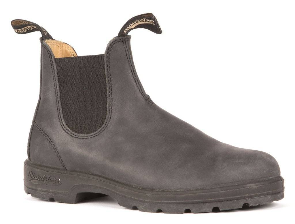BLUNDSTONE Blundstone 587 - Leather Lined in Rustic Black