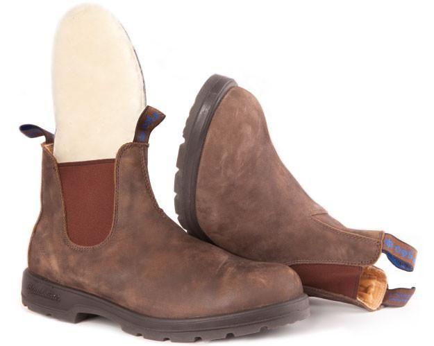 BLUNDSTONE Blundstone 584 Winter Boot Rustic Brown
