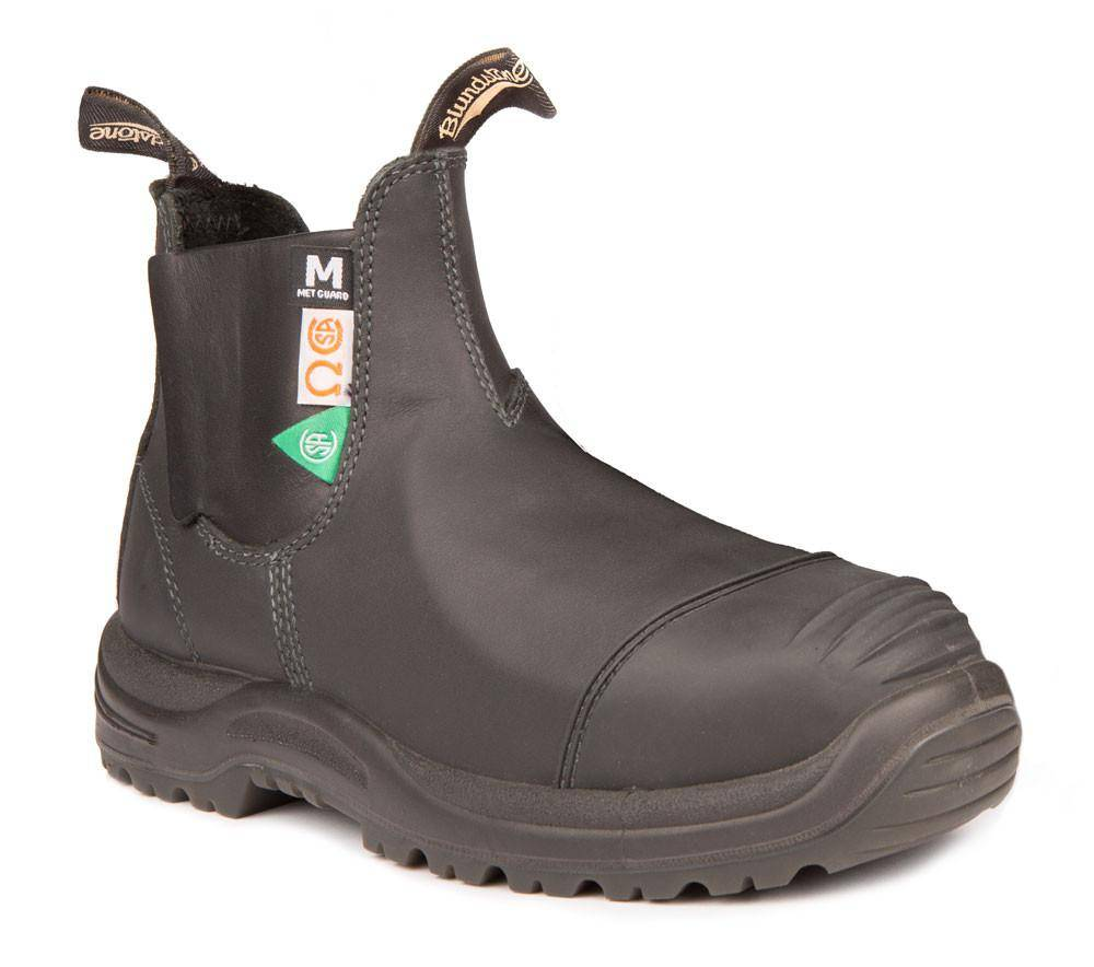 BLUNDSTONE Blundstone 165, the Greenpatch Met Guard Black